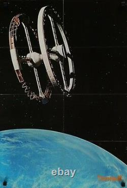 2001 A SPACE ODYSSEY Japanese B2 movie poster double sided STANLEY KUBRICK 1968