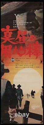 BRUTE AND THE BEAST Japanese STB movie poster 1966 WESTERN FRANCO NERO FULCI