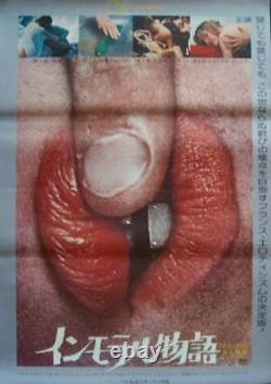 CONTES IMMORAUX IMMORAL TALES Japanese B2 movie poster SEXPLOITATION 1974 NM