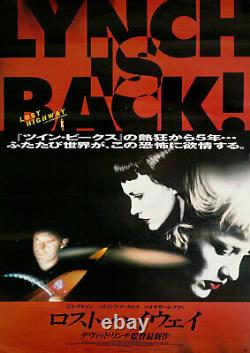 Lost Highway 1997 Japanese B2 Poster
