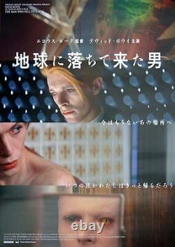 MAN WHO FELL TO EARTH Japanese B2 movie poster R2017 DAVID BOWIE MINT Unique Art