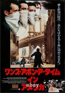 ONCE UPON A TIME IN AMERICA Japanese B2 movie poster B SERGIO LEONE DE NIRO