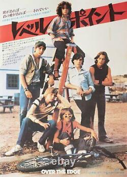 Over the Edge 1979 Japanese B2 Poster