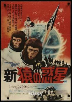 PLANET OF THE APES ESCAPE FROM THE Japanese B2 movie poster 1971 NM