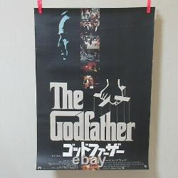 THE GODFATHER 1972' Original Movie Poster Japanese B2 Francis Ford Coppola